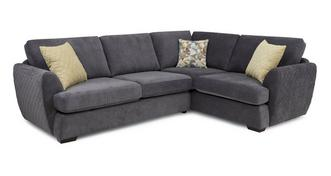 Karisma Left Hand Facing 2 Seater Deluxe Corner Sofa Bed