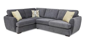 Karisma Right Hand Facing 2 Seater Deluxe Corner Sofa Bed