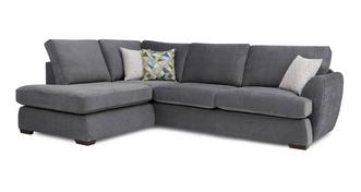 Karisma Right Arm Facing Open End Corner Deluxe Sofabed