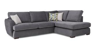 Karisma Left Arm Facing Open End Corner Deluxe Sofabed