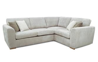 Left Hand Facing 2 Seater Corner Sofa
