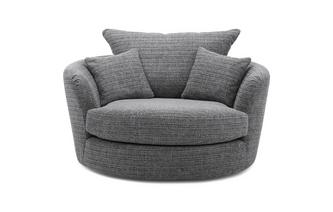 Weave Large Swivel Chair