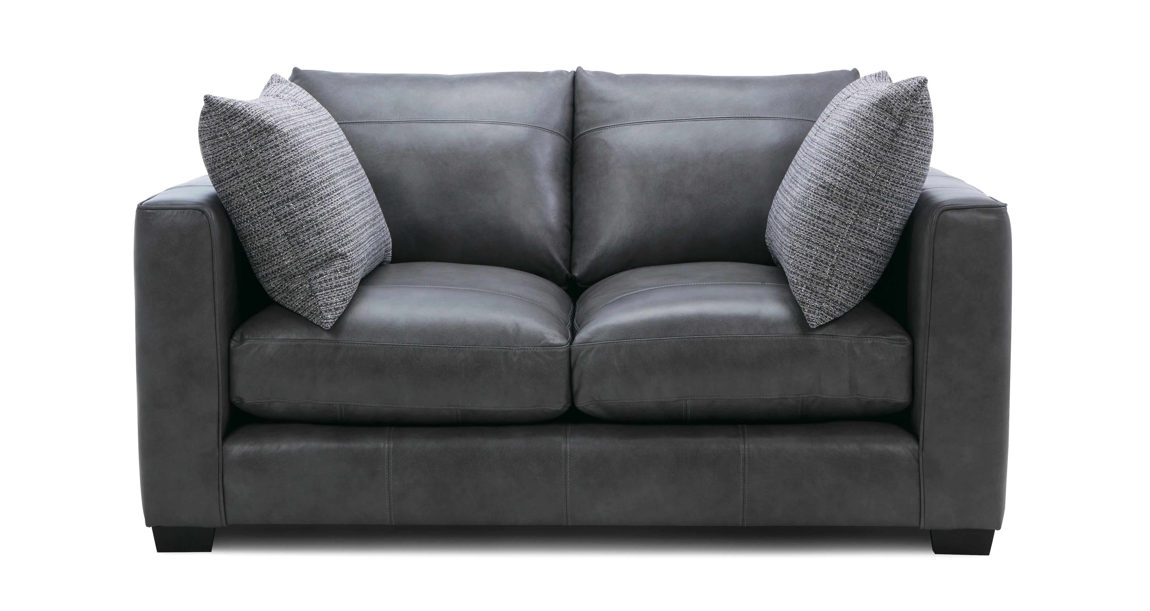 Keaton Leather Small 2 Seater Sofa Keaton Leather | DFS ...
