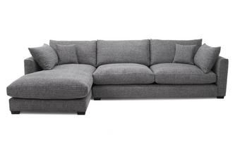 Weave Left Hand Facing Large Chaise End Sofa