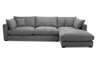 Weave Right Hand Facing Large Chaise End Sofa