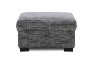 Weave Small Storage Footstool