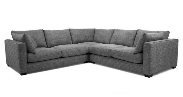 Keaton Weave Small Corner Sofa, L Shape Sofas Dfs