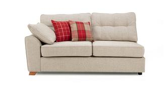Keeper Left Hand Facing Arm 3 Seat  Deluxe Sofa Bed Unit