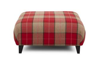 Multi Check Large Footstool
