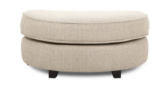 Keeper Half Moon Footstool