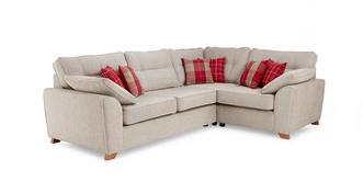 Keeper Left Hand Facing Arm 3 Seater Corner Sofa