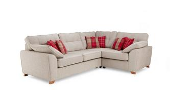 Left Hand Facing Arm 3 Seater Corner Sofa Keeper