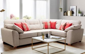 Keeper Left Hand Facing Arm 3 Seater Corner Sofa Keeper