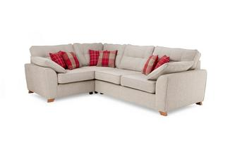Right  Hand Facing Arm 3 Seater Corner Sofa Keeper