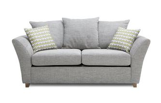 Large 2 Seater Pillow Back Sofa Bed Keira