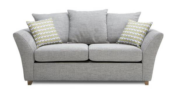 Keira Large 2 Seater Pillow Back Sofa Bed