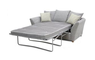 Large 2 Seater Pillow Back Deluxe Sofa Bed Keira