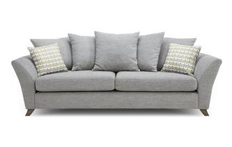 4 Seater Pillow Back Sofa Keira