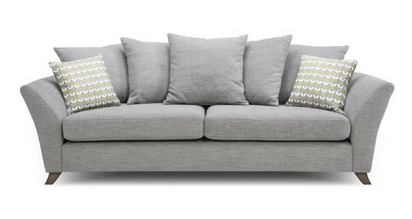 Keira 4 Seater Pillow Back Sofa