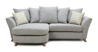 Keira 4 Seater Pillow Back Lounger