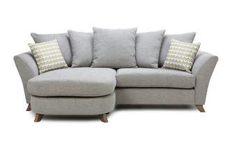 4 Seater Pillow Back Lounger Keira