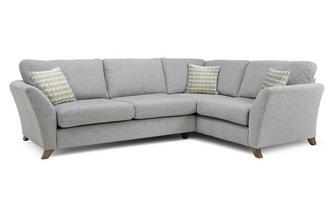 Left Hand Facing 3 Seater Formal Back Corner Sofa Keira