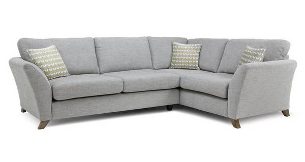 Keira Left Hand Facing 3 Seater Formal Back Corner Sofa