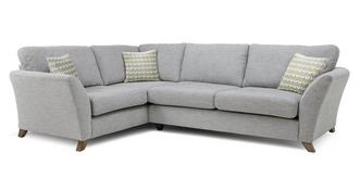 Keira Right Hand Facing 3 Seater Formal Back Corner Sofa