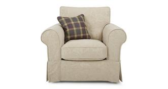 Kendal Pattern and Floral fauteuil