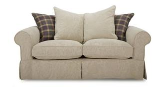 Kendal Pattern and Plaid Pillow Back Medium Sofa
