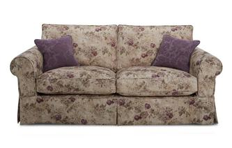 Floral Formal Back Large Sofa Kendal Floral
