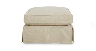 Kendal Large Loose Cover Pattern Footstool