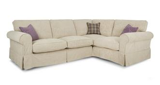 Kendal Left Hand Facing Pattern Formal Back 3 Seater Corner Group