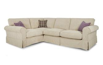 Right Hand Facing Pattern Formal Back 3 Seater Corner Group Kendal Pattern