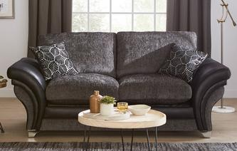 Kendra Formal Back 2 Seater Deluxe Sofa Bed Oberon