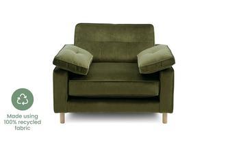 Velvet Armchair