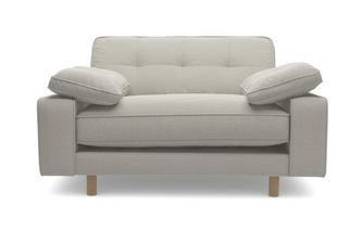 Chenille Cuddler Sofa
