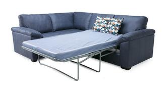 Kenzy Right Hand Facing 2 Seater Deluxe Corner Sofa Bed
