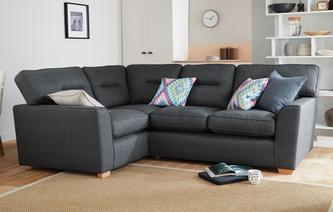 Kiko Right Hand Facing 2 Seater Corner Sofa Revive