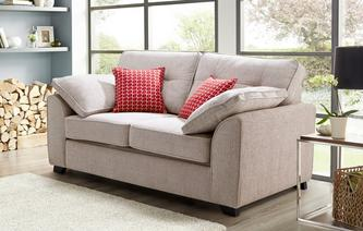 Kirkby 2 Seater Deluxe Sofa Bed KIrkby Plain