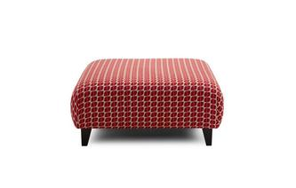 Pattern Large Footstool Kirkby Scatter