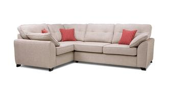 Kirkby Right Hand Facing 3 Seater Deluxe Corner Sofa Bed