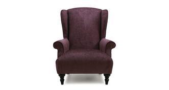 Kitty Plain Wing Chair