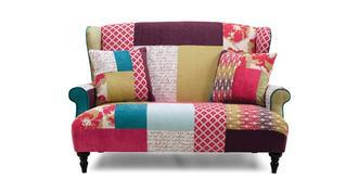 Kitty Patch Petit Wingback Sofa