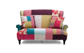 Petit Wingback Sofa Kitty Patch