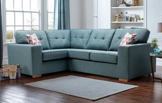 Kizzi Right Hand Facing 2 Seater Corner Sofa Revive