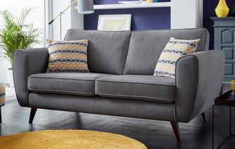 Koby 3 Seater Sofa Plaza