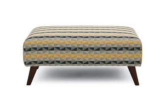 Banquette Footstool Koby Pattern