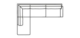Kreta RHF Arm 3.5 Seater Open End Corner