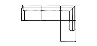 Kreta LHF Arm 3.5 Seater Open End Corner